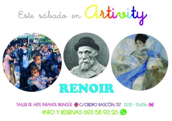 Renoir en el Artivity de Paz