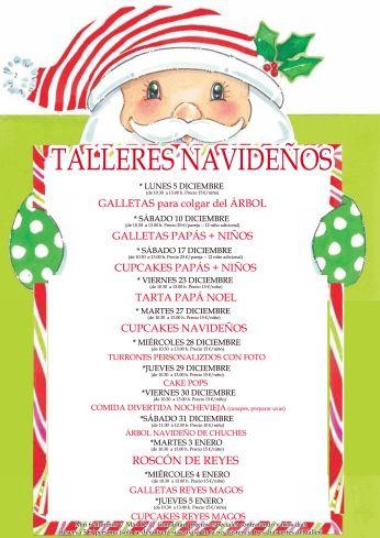 Talleres infantiles de Navidad en Tarty Party