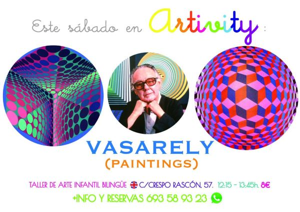 Vasarely en el Artivity de Paz Samaniego