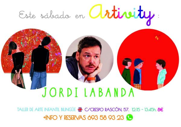 Jordi Labanda en el Artivity