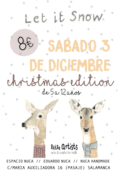 Little Artists Christmas Edition en Espacio Nuca