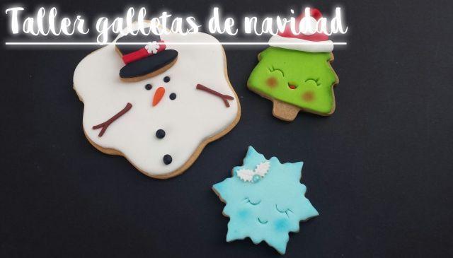 """Taller infantil de galletas de Navidad en """"La Gata Curiosa"""""""