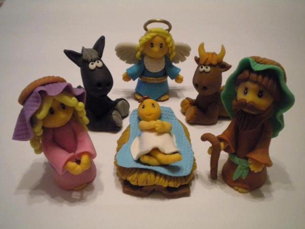 Taller infantil de Belén navideño en Leroy Merlin Salamanca