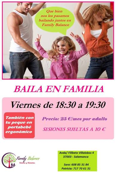 Baila en familia en Family Balance