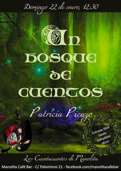 Patricia Picazo cuenta en el Manolita Café bar