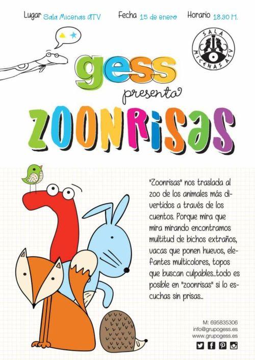 Zoonrisas en la Sala Micenas ATV