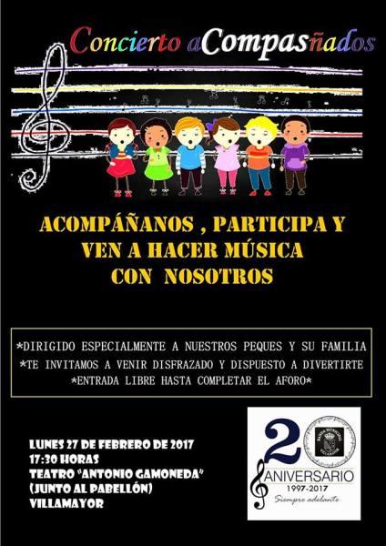 Concierto Acompasñados de la Banda de Música de Villamayor