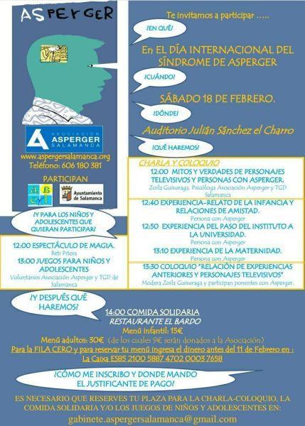 Día internacional de Asperger en Salamanca