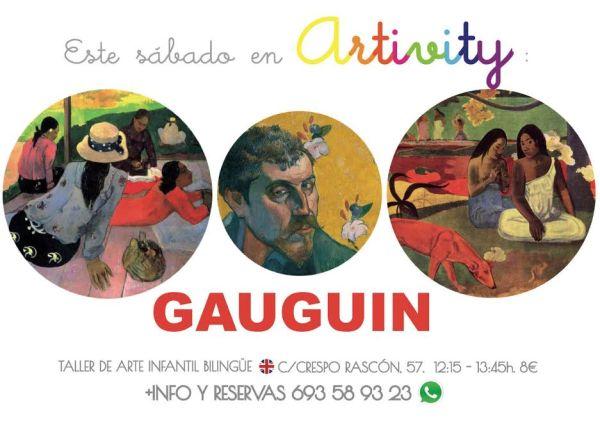 Gauguin en el Artivity de Paz Samaniego
