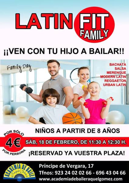 LatinFit Family en la Academia de Baile Raquel Gómez
