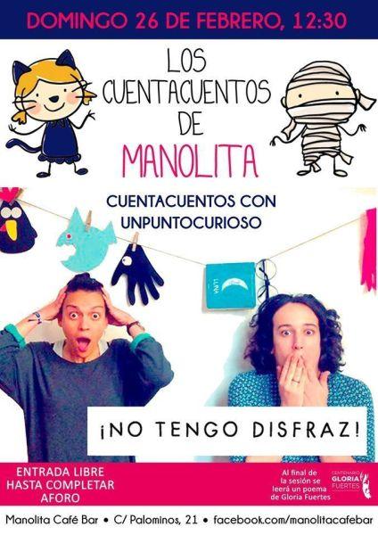 Unpuntocurioso cuentan en el Café Manolita en Carnaval