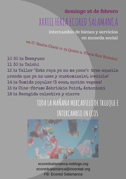 XXXIII Feria Ecored en Salamanca