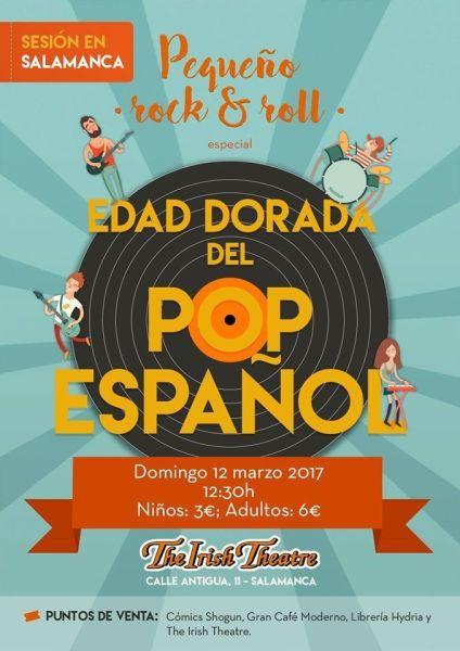 Concierto de Pequeño Rock & Roll en Salamanca para toda la familia