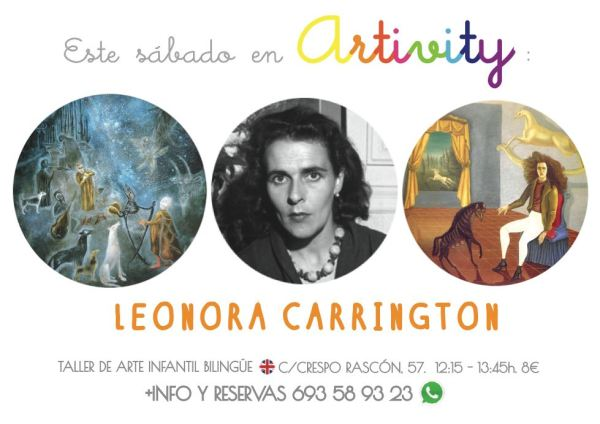 Leonora Carrington en el Artivity de Paz Samaniego