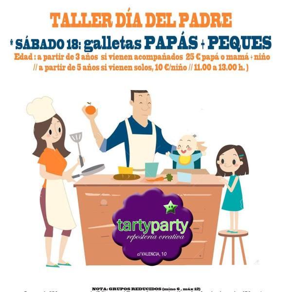 Taller Día del Padre 2017 en Tarty Party