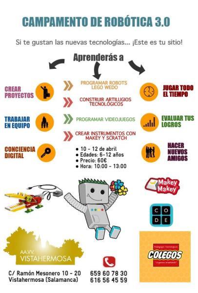 Campamento Robótica de Semana Santa en Vistahermosa