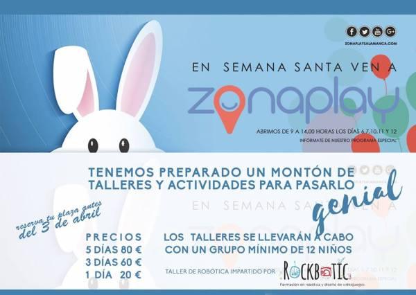Campamento de Semana Santa 2017 en Zona Play