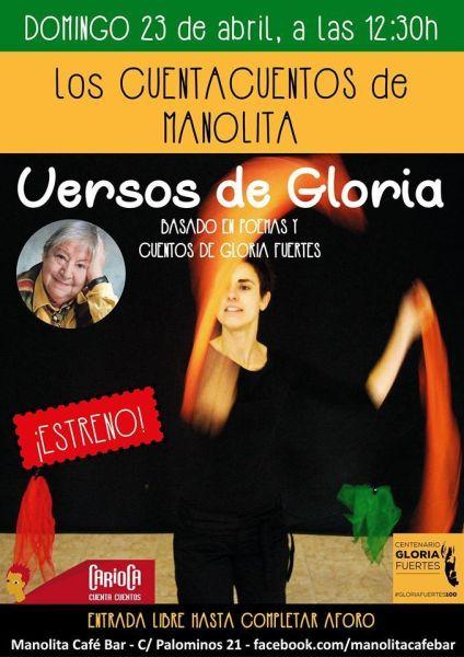 Carioca y los versos de Gloria Fuertes en el Manolita