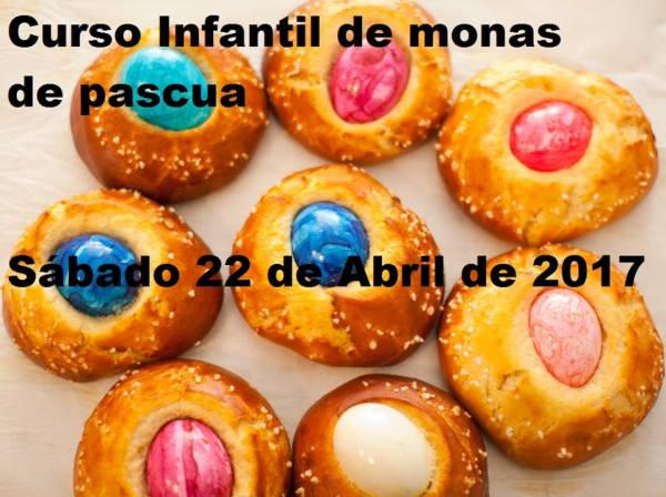 Curso infantil de Monas de Pascua en Brownie&Home