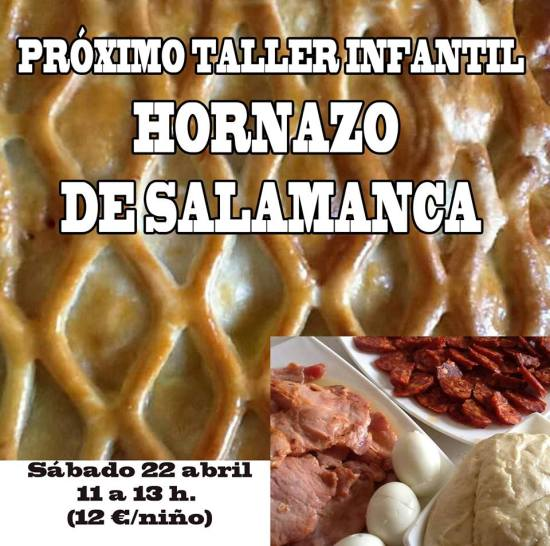 Curso infantil de hornazo de Salamanca en Tarty Party