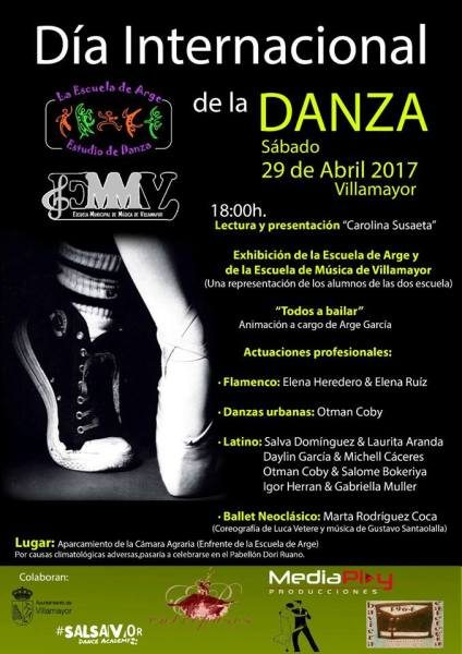 Día Internacional de la Danza en la Escuela de Arge