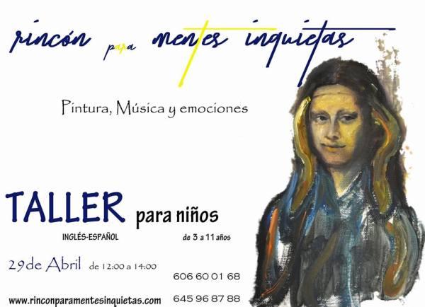 Taller de música, pintura y emociones en El Rincón para Mentes Inquietas