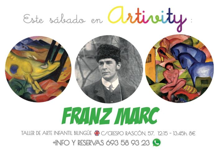 Franz Marc en el Artivity de Paz Samaniego