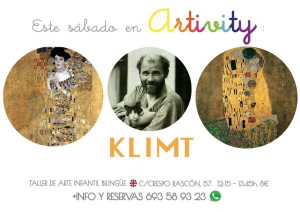 Klimt en el Artivity de Paz Samaniego