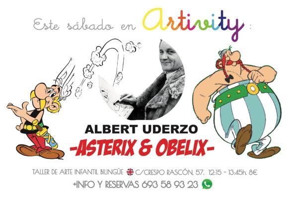 Albert Uderzo en el Artivity