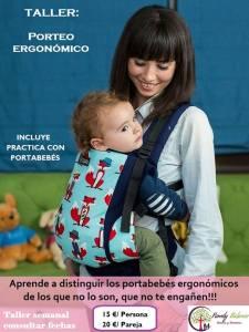 Taller de porteo ergonómico en Family Balance Salamanca