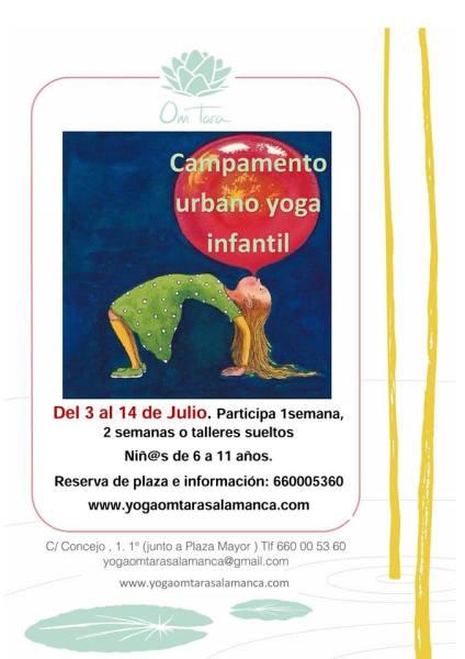 Campamento de Yoga en Om Tara