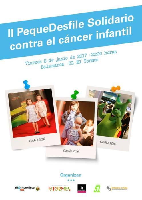 II Desfile Solidario contra el cáncer infantil en el Centro Comercial El Tormes