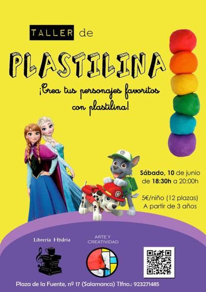 Taller infantil de plastilina en Carletes