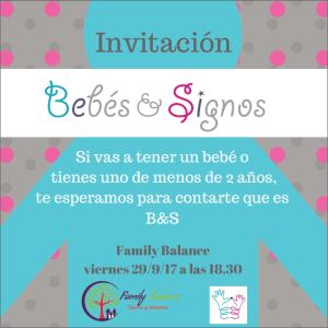Conoce Bebés & Signos en Family Balance Salamanca y aprende a comunicarte con tu bebé