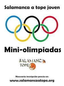 Participa en las Miniolimpiadas de Satope Joven