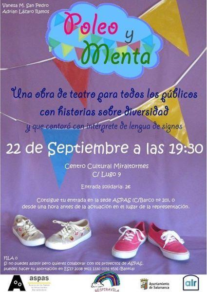 Disfruta de la función de teatro a favor de ASPAS-Salamanca