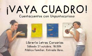 Cuentacuentos de Unpuntocurioso en la librería Letras Corsarias