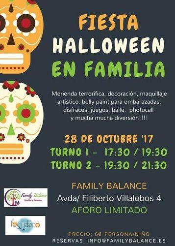 Fiesta de Halloween en familia en Family Balance Salamanca