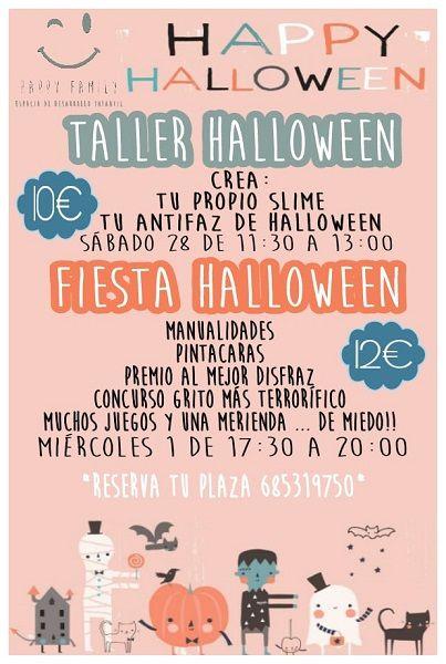 Actividades de Halloween en Happy Family Salamanca