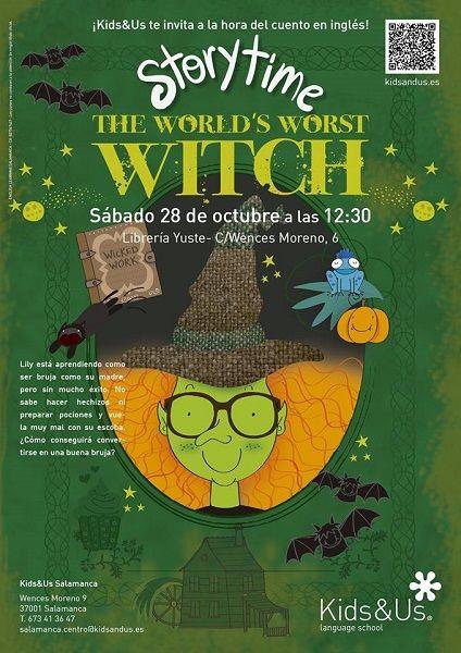 Story Time, la hora del cuento en inglés con Kids & Us en Salamanca