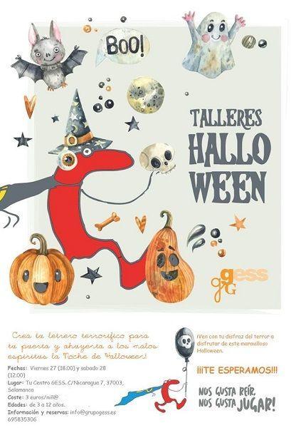 Talleres infantiles de Halloween en Tu Centro Gess en Salamanca