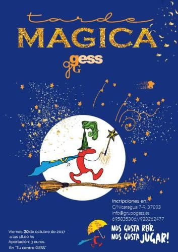 Disfruta de la tarde mágica que han organizado en tu Centro GESS