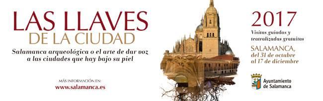 Las llaves de la ciudad, una actividad de Turismo de Salamanca para conocer los rincones más escondidos de la ciudad