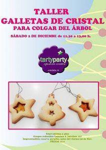 Taller infantil de galletas de cristal en Tarty Party Salamanca