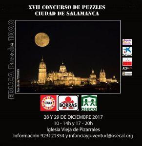 XVII Concurso de Puzzles Ciudad de Salamanca