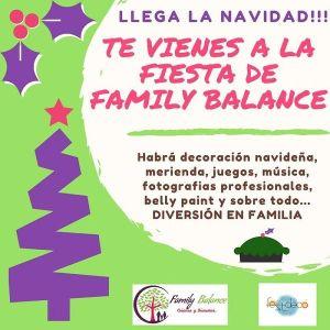 Fiesta Navideña en Family Balance Salamanca