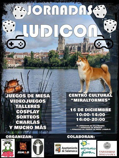 Jornadas Ludicon en Salamanca