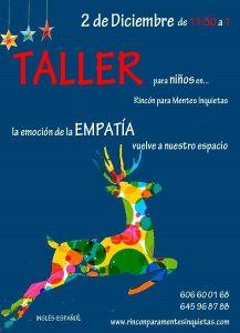 Taller infantil de arte y emociones en El Rincón para Mentes Inquietas