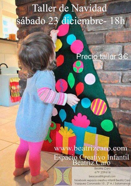 Taller de Navidad en el Espacio Creativo de Beatriz Caro