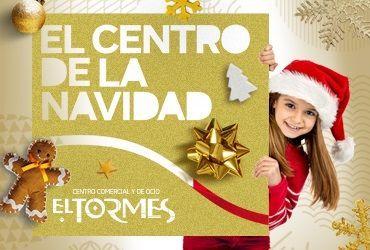 Papá Noel y los Reyes Magos visitan el Centro Comercial El Tormes